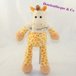 Baby NAT giraffe tee beige shirt 30 cm