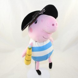 Pig cub Gorges JEMINI Peppa pig blue white pirate 30 cm