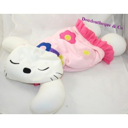 Big cat BIGBAO white pink micro marbles 62 cm
