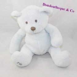 White OBAIBI Okaidi bear cub sitting 18 cm