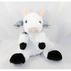 Doudou cow CREATIONS DANI black and white all soft 24 cm