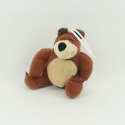 Mini plush Michka bear GIOCATTOLI SICURI Masha and Michka brown 14 cm