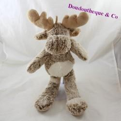 RODADOU Elan deer, white brown reindeer 38 cm
