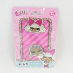 Pin's Poupée LOL Surprise lot de 2 épinglettes