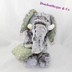 Elephant towel VADIMO'S PATECE linen polka dot bag 33 cm