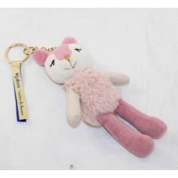 Plush key holder Ava doe KALOO The Kalines pink 17 cm