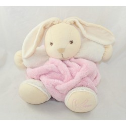 Rabbit comforter KALOO Feather pink brown 25 cm