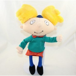 Peluche Arnold LANSAY Hé Arnold animated series 2000 32 cm