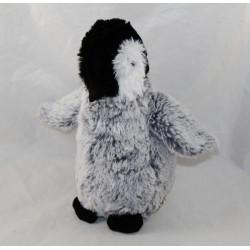SKIN penguin NATURE PLANET white grey penguin 23 cm
