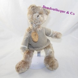 SoPAFRA Clementine Bear Creations Beige Sweater 31 cm
