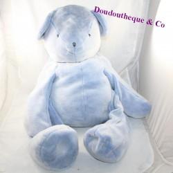 Big teddy bear DOUDOU AND COMPAGNIE I love my blue softie DC3181 70 cm