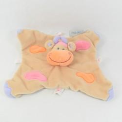 Doudou flat 27 cm beige cow NATTOU clouds puppet