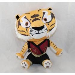 Peluche Kung Fu Panda Tiger DREAMWORKS Master Tiger Big Headz 22 cm