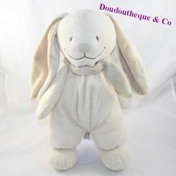 NicoTOY rabbit cub beige brown scarf 36 cm