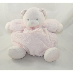 Peluche patapouf bear KALOO Pearl patapouf light pink teddy bear 30 cm