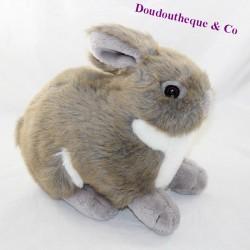 Classic grey brown ANIMA rabbit 33 cm