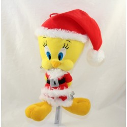Canary wither Titi PLAY BY PLAY Looney Tunes Titi and grosminet Santa Claus 26 cm