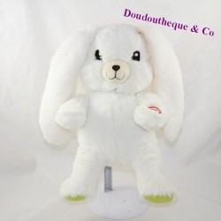 Bright rabbit PIOUPIOU AND MERVEILLES green white 22 cm