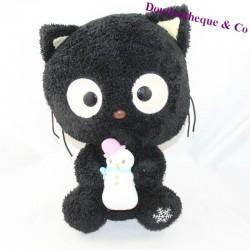 Cat peluche SANRIO Chococat black snowman 32 cm
