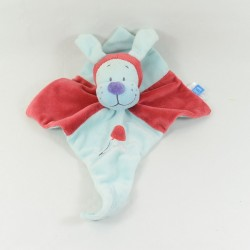 Doudou musical dog TEX BABY red blue 30 cm
