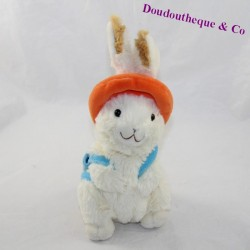 Peluche rabbit GIPSY backpack hat 21 cm