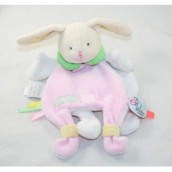 Doudou cape rabbit DOUDOU AND COMPAGNY Tatoo Where are Doudou? DC3145 pink 25 cm