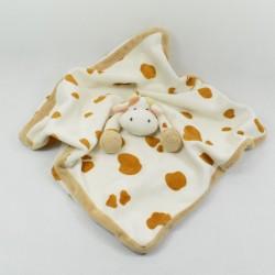 Doudou giraffe flat DIINGLISAR WILD brown beige tasks 34 cm