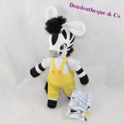 Zebra towel Zou DUJARDIN animated series yellow overalls 21 cm