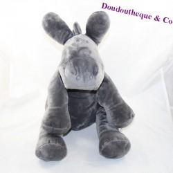 Peluche Paco donkey NOUKIE'S Dark Grey Star Powder 30 cm