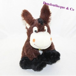 FIZZY brown bandana green donkey 25 cm