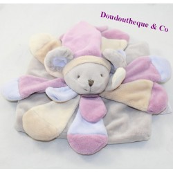 Doudou flat mouse DOUDOU AND COMPAGNY Collector powder pink DC2379 20 cm