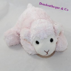 Pink sheep cub elongated 22 cm