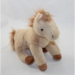 "BuKOWSKI beige horse ""Baby Sugar"" sugar long hairs 23 cm"
