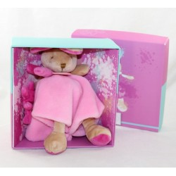 Doudou rabbit DOUDOU AND COMPAGNY Pink Graffitis Bear DC2558 NEUF