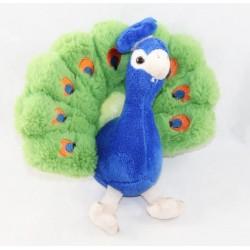 Peacock bird CORNELL BEN Cornelissen blue green 20 cm