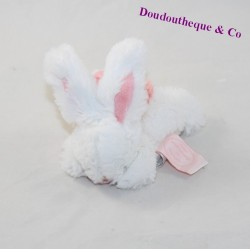 Mini DOUDOU bunny and COMPAGNIE Pompon attaches pink nipple DC2676 12 cm
