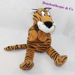 Skinned tiger micro balls plastic white eyes 25 cm