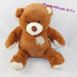 SIMBA TOYS Nicotoy brown patched bear seated 18 cm