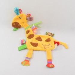 Doudou flat giraffe LABEL...