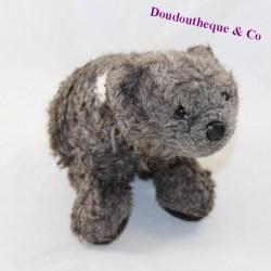 Vintage grey CREATIONS OSB bear cub 23 cm