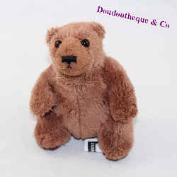 Little teddy bear JOHN WEST brown sitting 12 cm