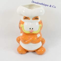 PAWS ALL RIGHTS RESERVED Garfield cat utensil pot