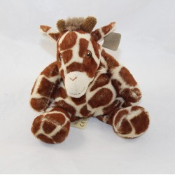Cubed giraffe WWF for a living planet brown beige 19 cm