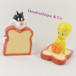 Lot of salt and pepper Titi and Grosminet STARLINE Looney Tunes ceramic