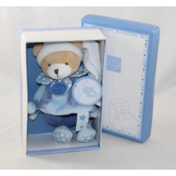 Hochet ours DOUDOU ET COMPAGNIE Petit Chou bleu étoiles mon doudou hochet 19 cm