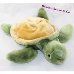 Peluche range pyjamas turtle SANODIANE green hot water bottle 38 cm
