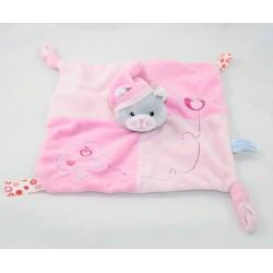 Doudou flat cat GIPSY pink...