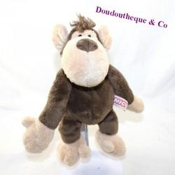 NICI beige brown monkey cub 24 cm
