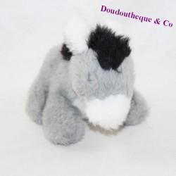 AJENA vintage vintage white grey donkey 19 cm