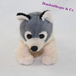 WOLF WITH THE JUNGLE AVENUE beige grey 17 cm